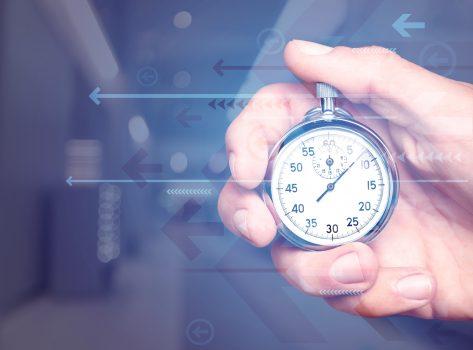 Cronômetro e urgência de pedido para planejamento da producao