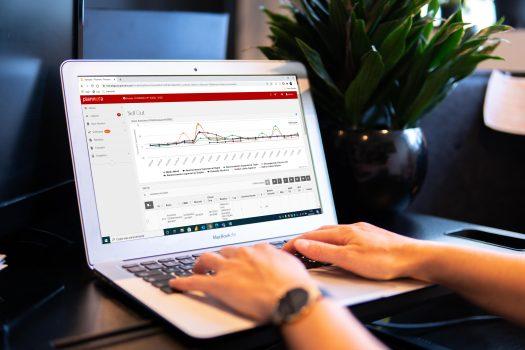 Estatística segunda etapa do S&OP com software da Plannera
